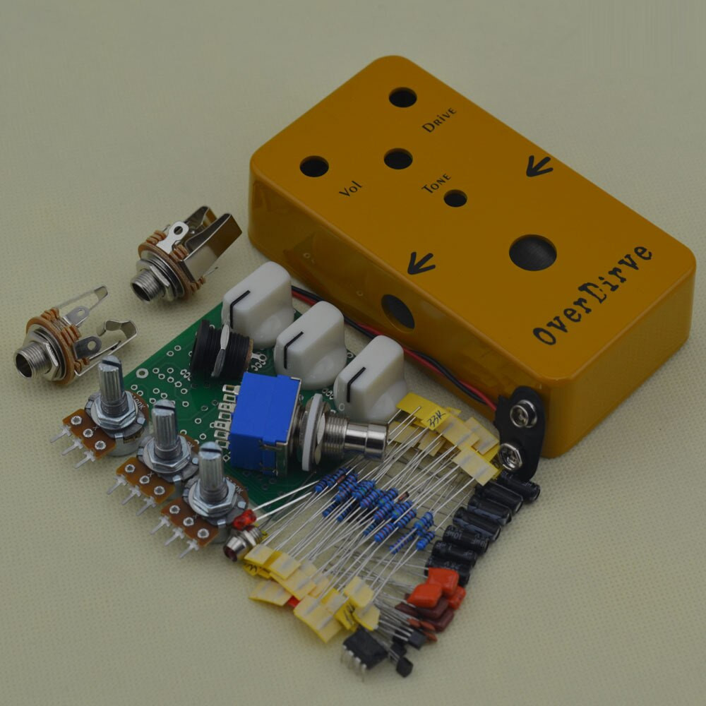 Best ideas about DIY Pedals Kits . Save or Pin Aliexpress Buy DIY Overdrive pedal All Kits With Now.