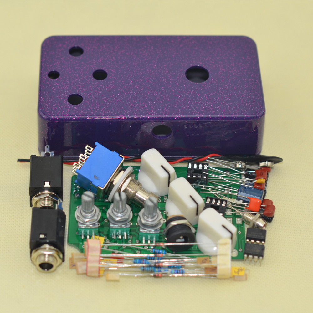 Best ideas about DIY Pedals Kits . Save or Pin DIY Fuzz& Distortion pedal Guitar kit and 1590B Flash Now.