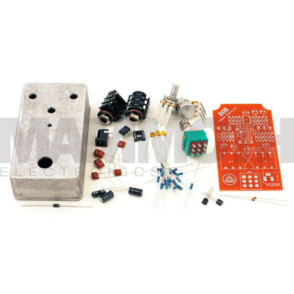 Best ideas about DIY Pedals Kits . Save or Pin DIY 808 Overdrive Pedal Kit Arcadia Electronics Now.