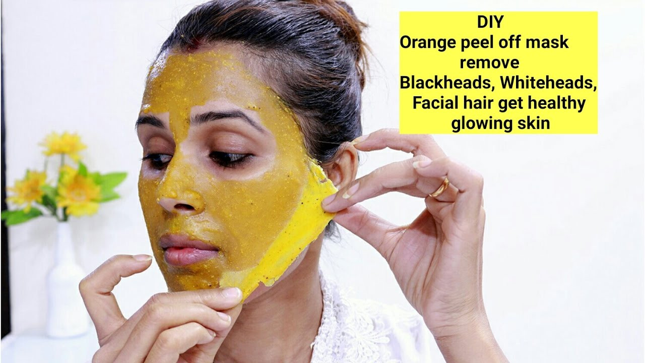 Best ideas about DIY Peel Mask . Save or Pin DIY Orange Peel f Mask Remove Blackheads Whiteheads Now.