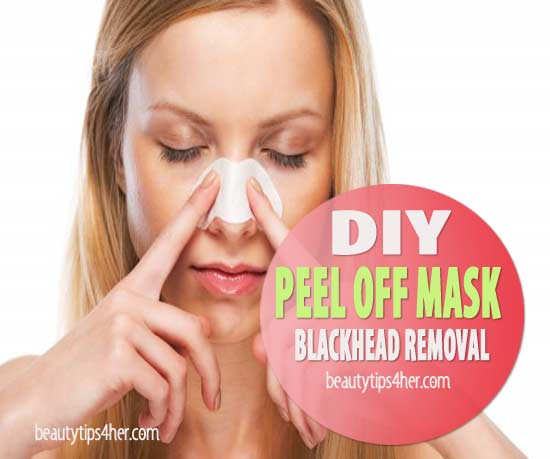 Best ideas about DIY Peel Mask . Save or Pin DIY Peel f Mask Blackhead Removal to Deep Clean Pores Now.