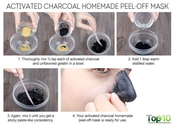 Best ideas about DIY Peel Off Charcoal Mask . Save or Pin Homemade Peel f Masks for Glowing Spotless Skin Now.