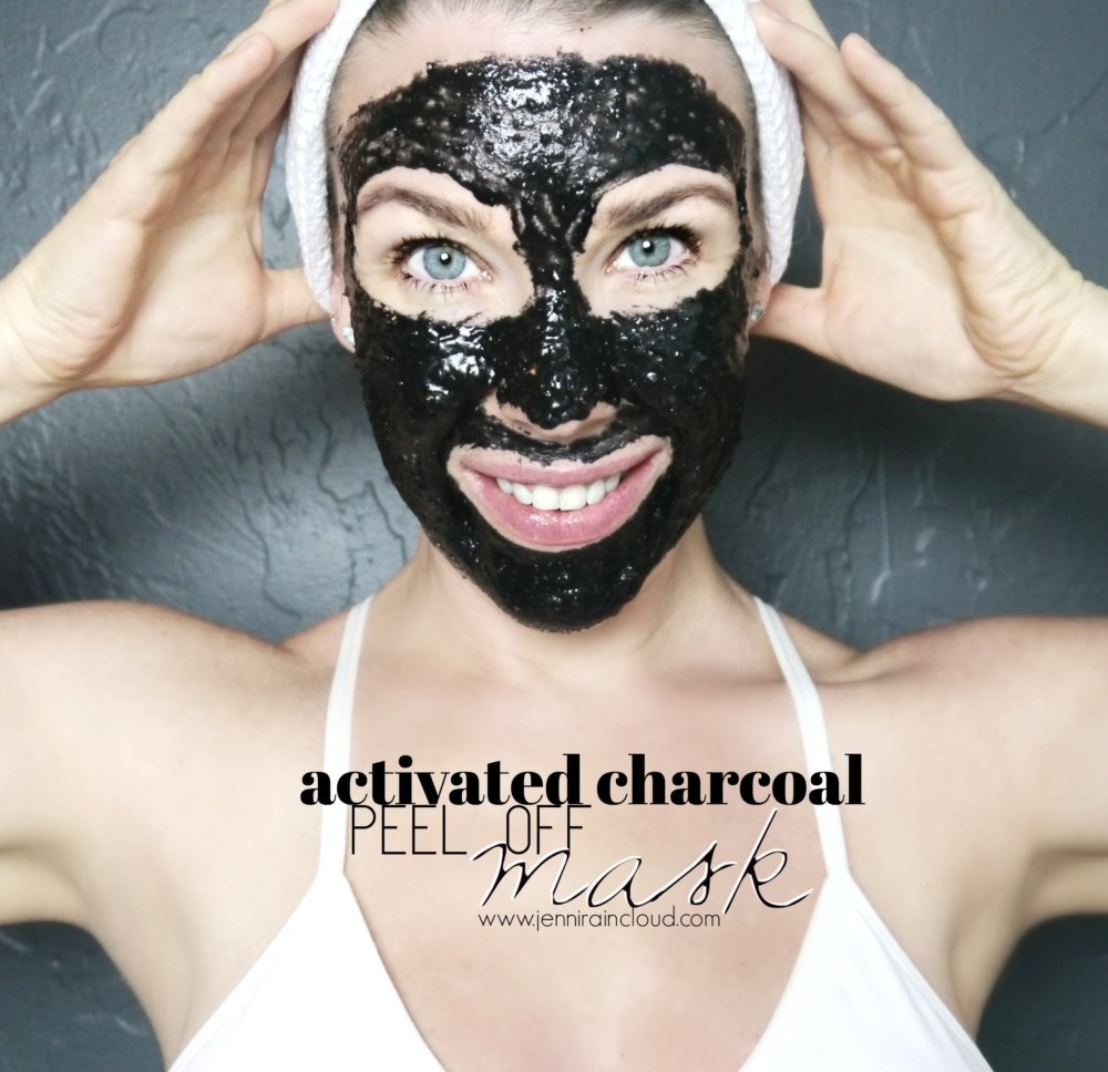 Best ideas about DIY Peel Off Charcoal Mask . Save or Pin Peel f Activated Charcoal Mask Jenni Raincloud Now.