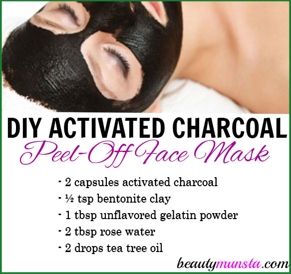 Best ideas about DIY Peel Off Charcoal Mask . Save or Pin DIY Activated Charcoal Peel f Mask beautymunsta Now.