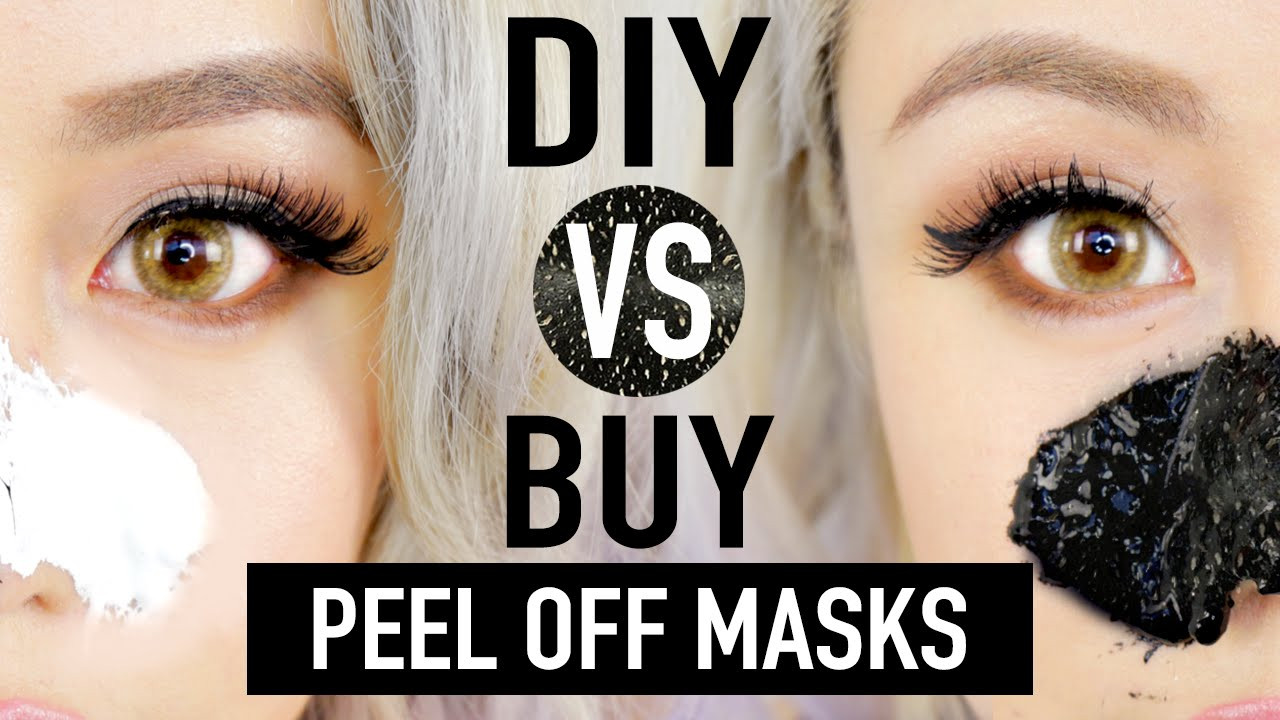 Best ideas about DIY Peel Off Charcoal Mask . Save or Pin DIY Peel f Mask To Remove Blackheads DIY vs BUY Now.