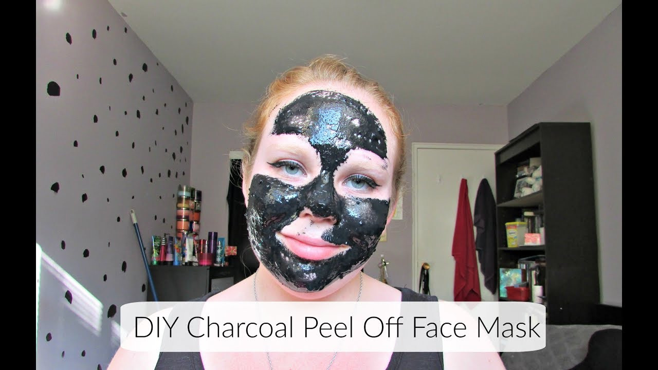 Best ideas about DIY Peel Off Charcoal Mask . Save or Pin DIY Charcoal & Gelatin Peel f Face Mask Now.