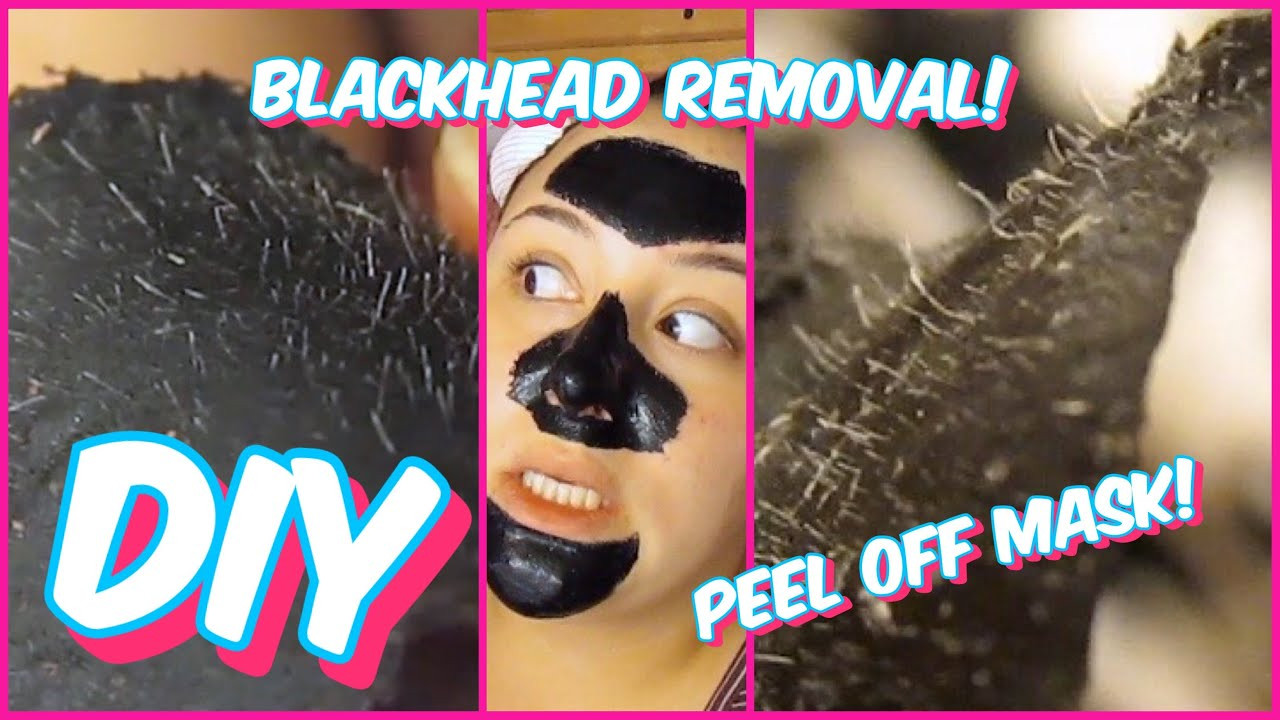 Best ideas about DIY Peel Off Face Mask For Blackheads . Save or Pin DIY BLACKHEAD REMOVAL PEEL OFF MASK BEAUTY HACK TESTED Now.