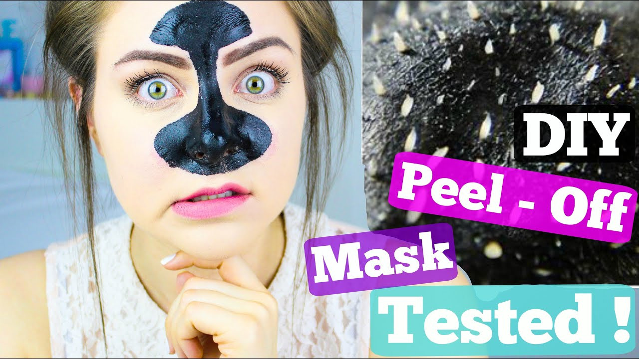 Best ideas about DIY Peel Off Face Mask For Blackheads . Save or Pin DIY Blackhead Remover Peel f Mask Tested Now.