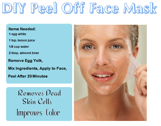 Best ideas about DIY Peel Off Face Mask With Egg . Save or Pin DIY Beauty Recipes Reme s & Foods Now.