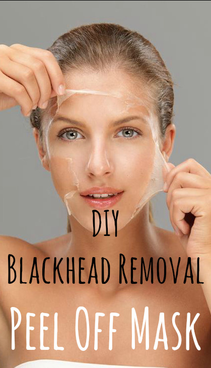 Best ideas about DIY Peel Off Face Mask With Egg . Save or Pin DIY Blackhead Removal Peel f Mask 1 egg white 1 Now.