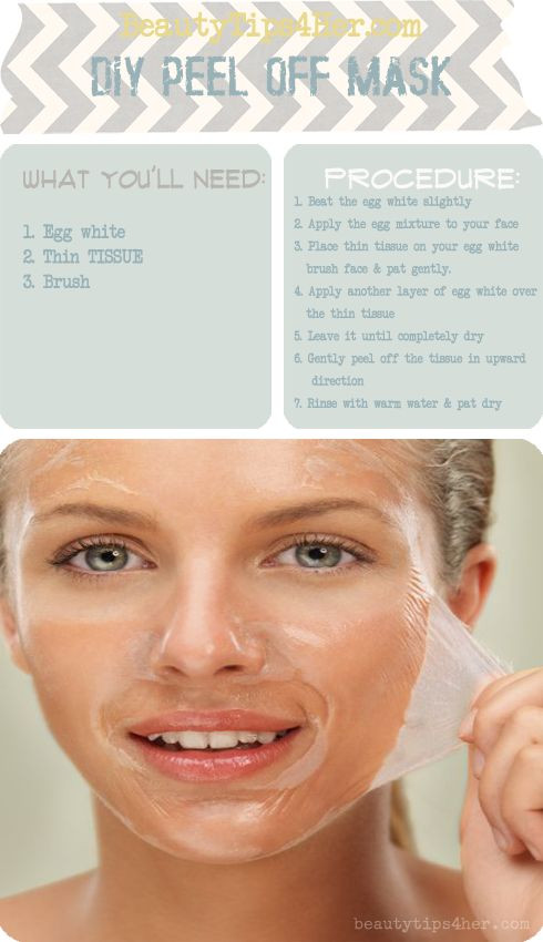 Best ideas about DIY Peel Off Face Mask With Egg . Save or Pin DIY blackhead removal peel off mask that actually works Now.