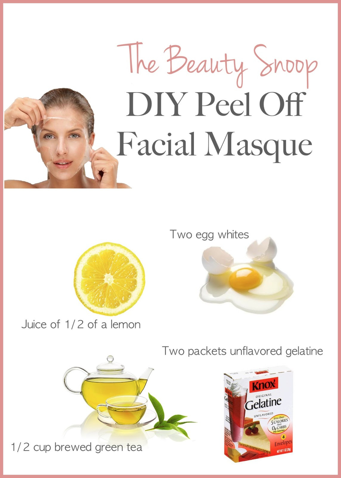 Best ideas about DIY Peel Off Mask . Save or Pin domowy peeling Now.