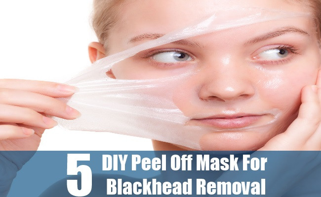 Best ideas about DIY Peel Off Mask . Save or Pin 5 DIY Peel f Mask For Blackhead Removal Now.