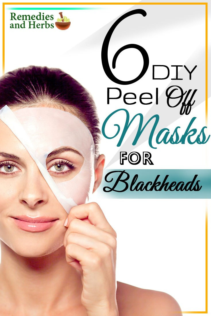 Best ideas about DIY Peel Off Mask . Save or Pin 6 DIY Peel f Masks For Blackheads Now.
