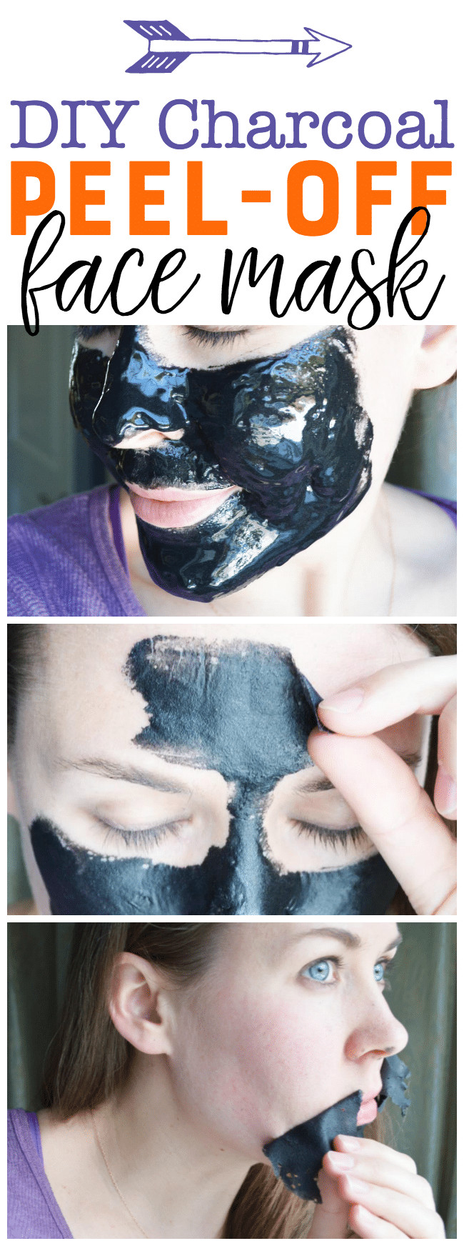 Best ideas about DIY Peel Off Mask . Save or Pin DIY Charcoal Peel f Mask Easy Blackhead Busting Mask Now.