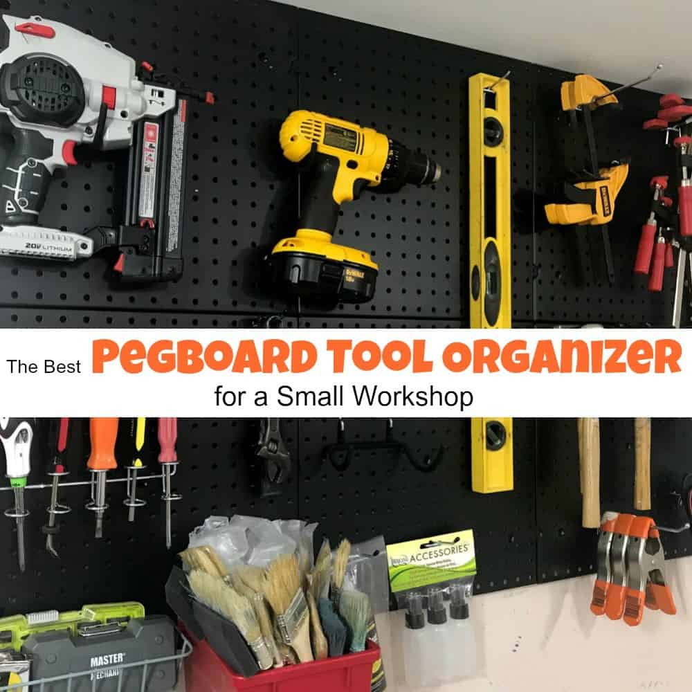 Best ideas about DIY Pegboard Tool Organizer . Save or Pin The Best Pegboard Tool Organizer For a Small Workshop Now.