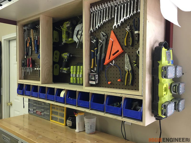 Best ideas about DIY Pegboard Tool Organizer . Save or Pin Tool Storage Wall Cabinet Rogue Engineer Now.