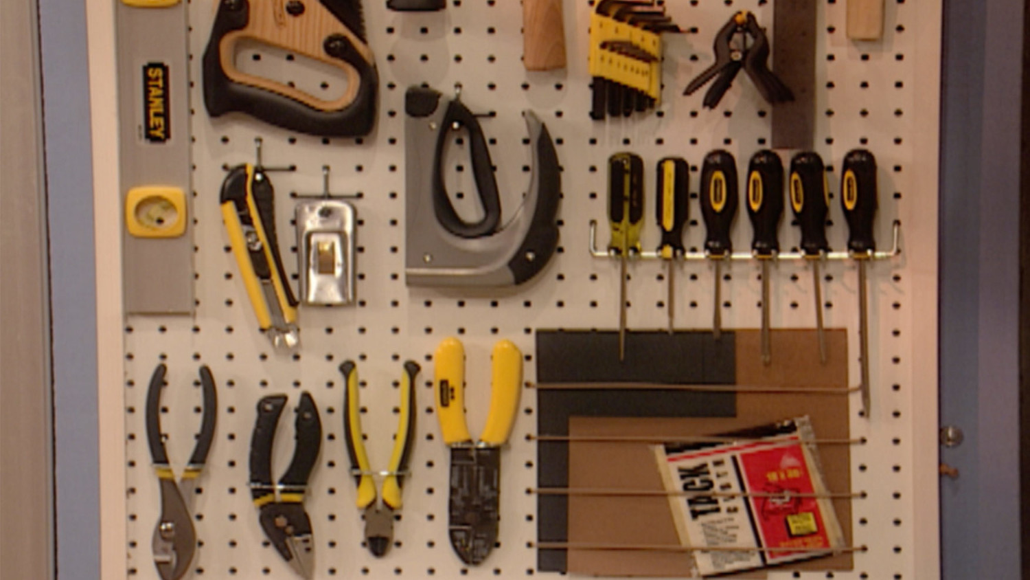 Best ideas about DIY Pegboard Tool Organizer . Save or Pin Video How to Make a Pegboard Tool Organizer Now.
