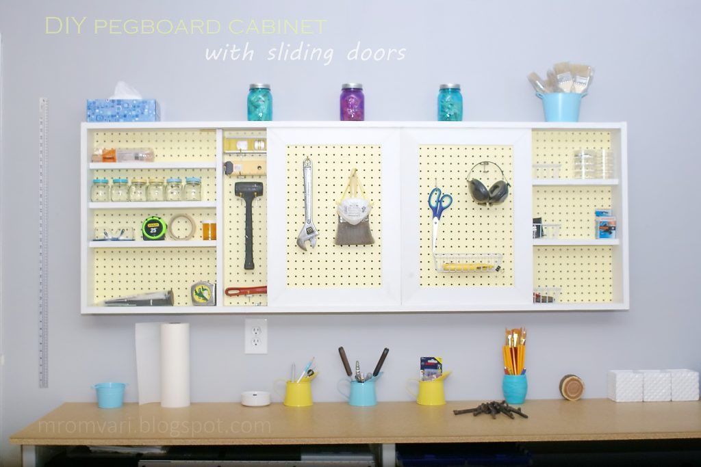 Best ideas about DIY Pegboard Tool Organizer . Save or Pin 10 Organization and Storage Hacks for Your Tiny Kitchen Now.
