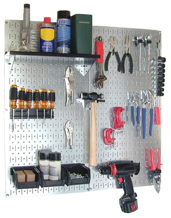 Best ideas about DIY Pegboard Tool Organizer . Save or Pin 49 Brilliant Garage Organization Tips Ideas and DIY Now.