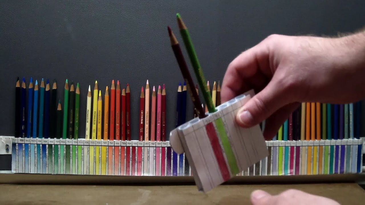 Best ideas about DIY Pencil Organizer . Save or Pin DIY Custom pencil holder for PRISMACOLOR Now.