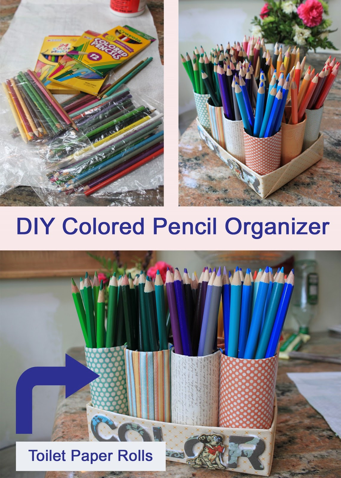 Best ideas about DIY Pencil Organizer . Save or Pin My Great Challenge DIY Colored Pencil Organizer Now.
