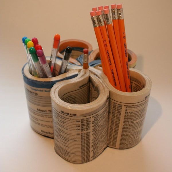 Best ideas about DIY Pencil Organizer . Save or Pin 15 DIY Ideas Make Your Own Pencil Holders Now.