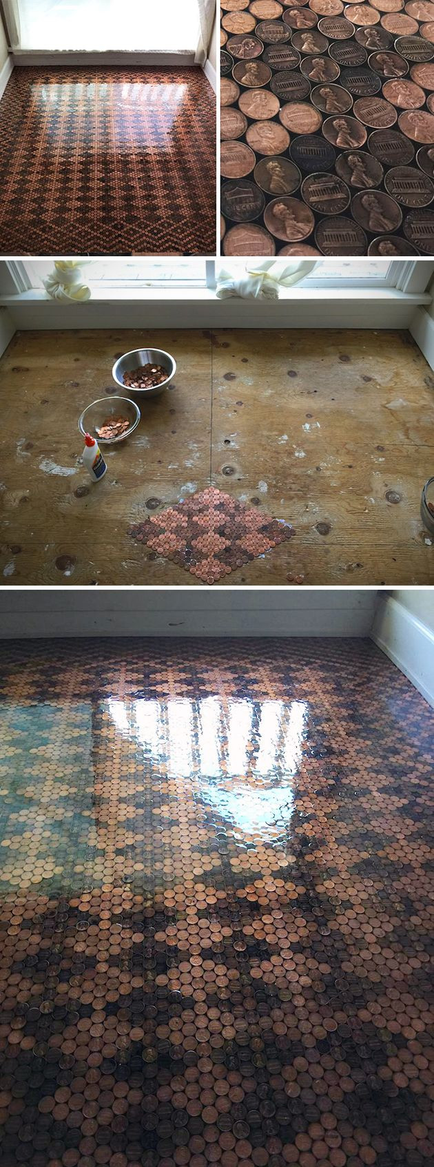 Best ideas about DIY Penny Floor . Save or Pin Best 25 Penny flooring ideas on Pinterest Now.