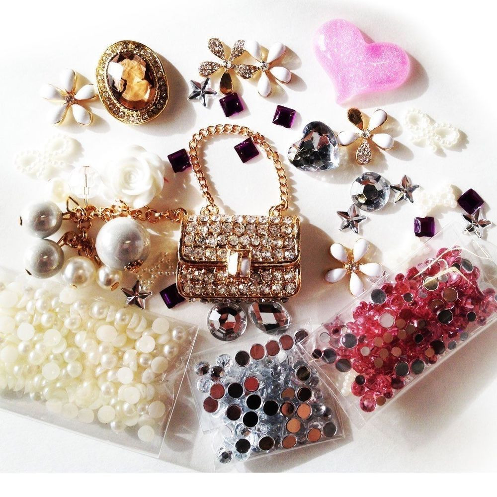 Best ideas about DIY Phone Case Kit . Save or Pin DIY 3D Bling Cell Phone Case Deco Kit Rhinestone Purse Now.