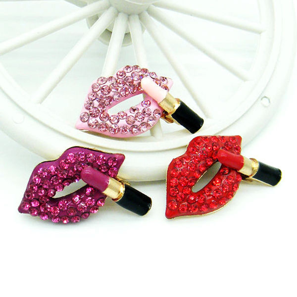 Best ideas about DIY Phone Case Kit . Save or Pin Hot y Rhinestone Lip Alloy Bling DIY Cell Phone Case Now.