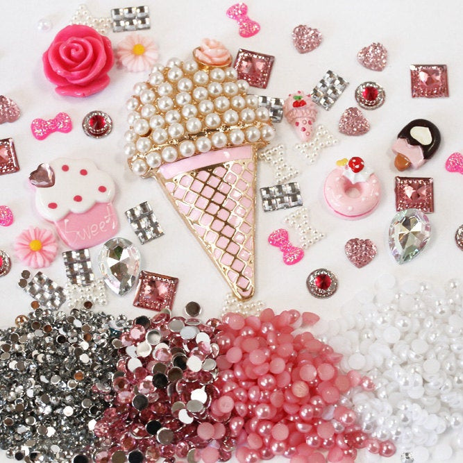 Best ideas about DIY Phone Case Kit . Save or Pin Y9 DIY 3D Bling Cell Phone Case Deco Kit Pink by Now.