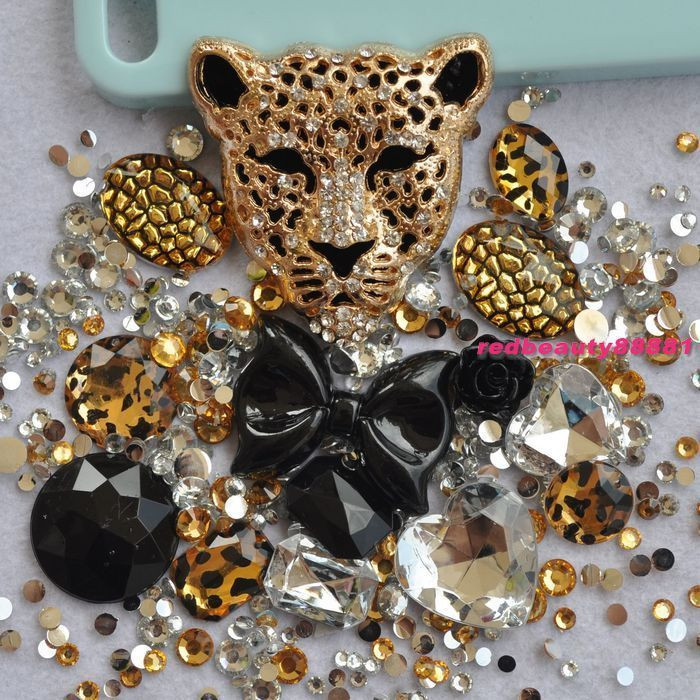 Best ideas about DIY Phone Case Kit . Save or Pin DIY Bling Phone Case Deco Den Kit Gold Style Alloy Now.