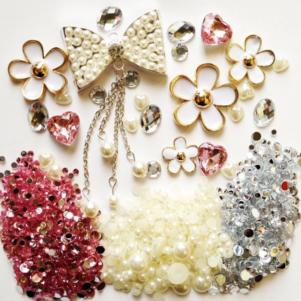 Best ideas about DIY Phone Case Kit . Save or Pin 3D DIY Bling Cell Phone Case Resin Kawaii Cabochons Now.