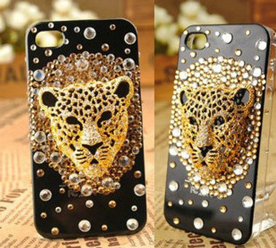 Best ideas about DIY Phone Case Kit . Save or Pin DIY cell phone case deco kit Leopard Diamonds DIY phone case Now.