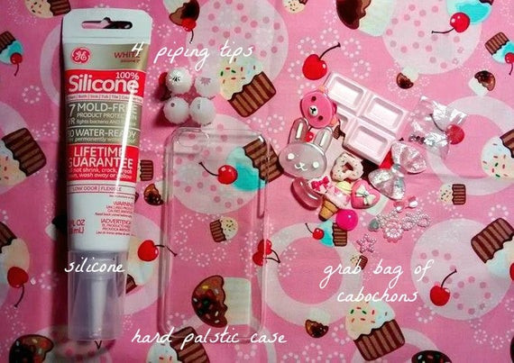 Best ideas about DIY Phone Case Kit . Save or Pin DIY make your own decoden phone case kit by JCArtBucket on Now.