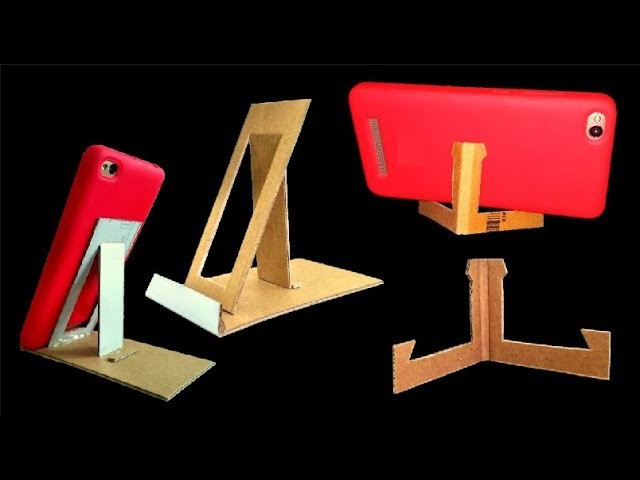 Best ideas about DIY Phone Stand For Desk . Save or Pin DIY phone holder how to make a cell phone stand for desk Now.