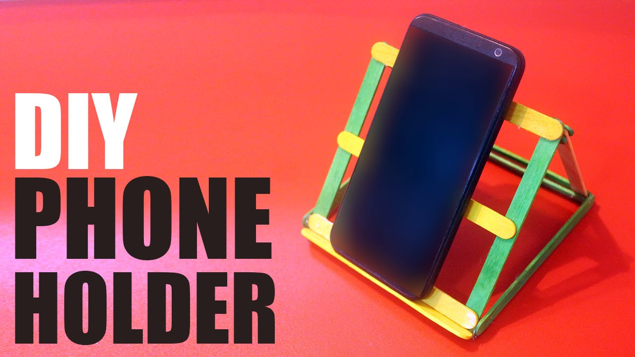 Best ideas about DIY Phone Stand For Desk . Save or Pin DIY Phone holder for desk Now.