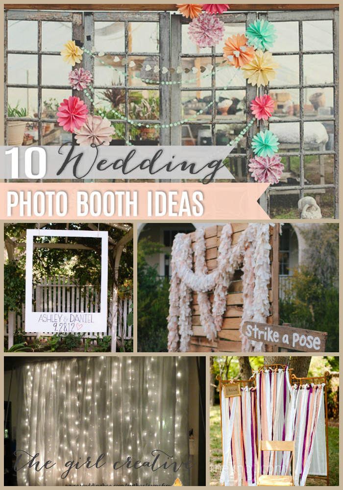 Best ideas about DIY Photo Booth Wedding . Save or Pin Wedding Booths on Pinterest Now.