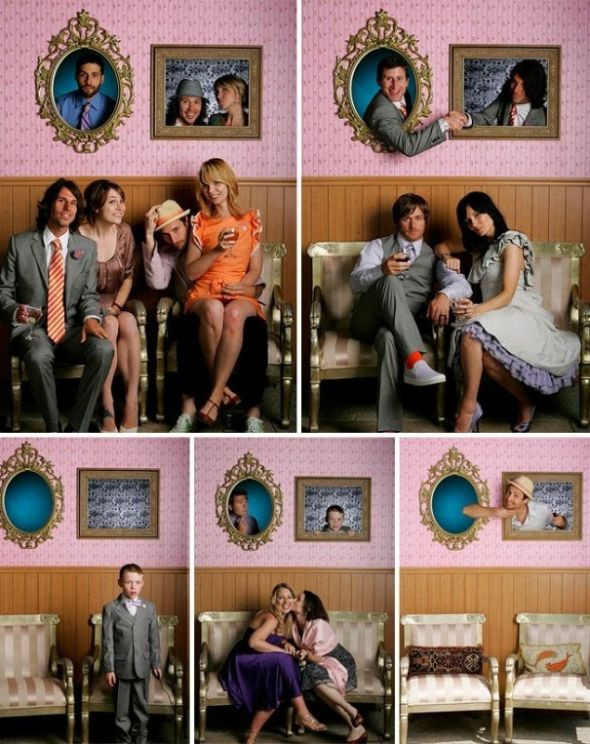 Best ideas about DIY Photo Booth Wedding . Save or Pin Picture frame booth Now.