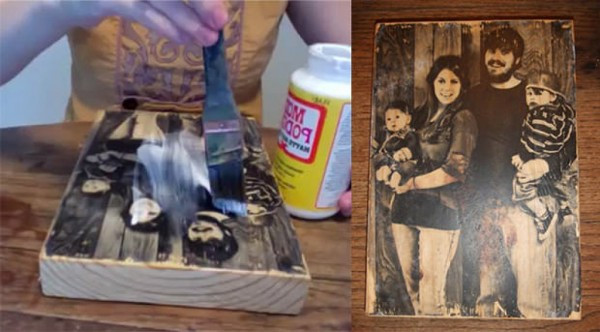 Best ideas about DIY Photo Transfer To Wood . Save or Pin How To Transfer To Wood Now.