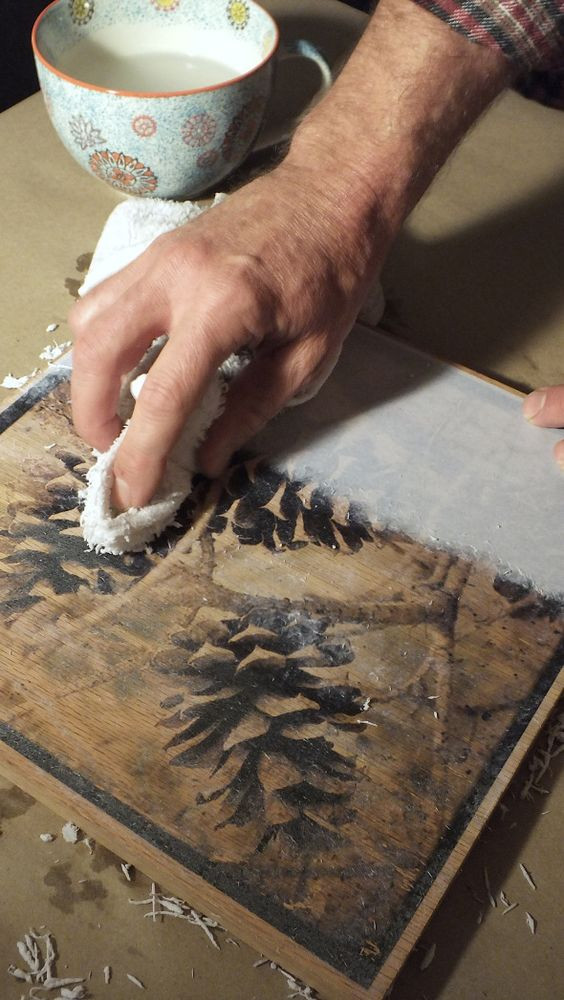 Best ideas about DIY Photo Transfer To Wood . Save or Pin 12 DIY Ideas to Transfer s to Wood Pretty Designs Now.