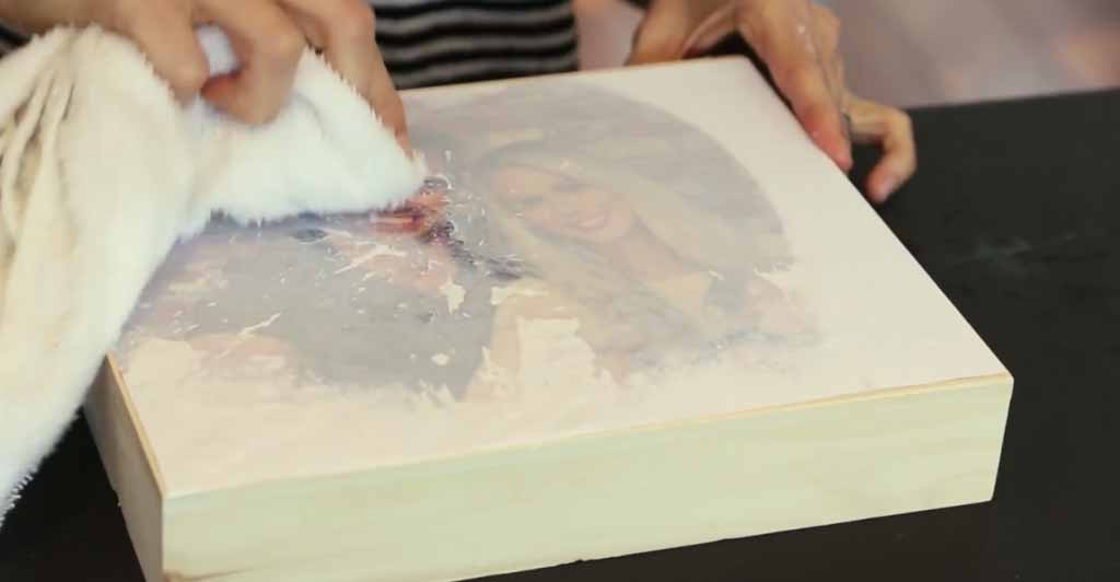 Best ideas about DIY Photo Transfer To Wood . Save or Pin How To Transfer A to Wood Now.