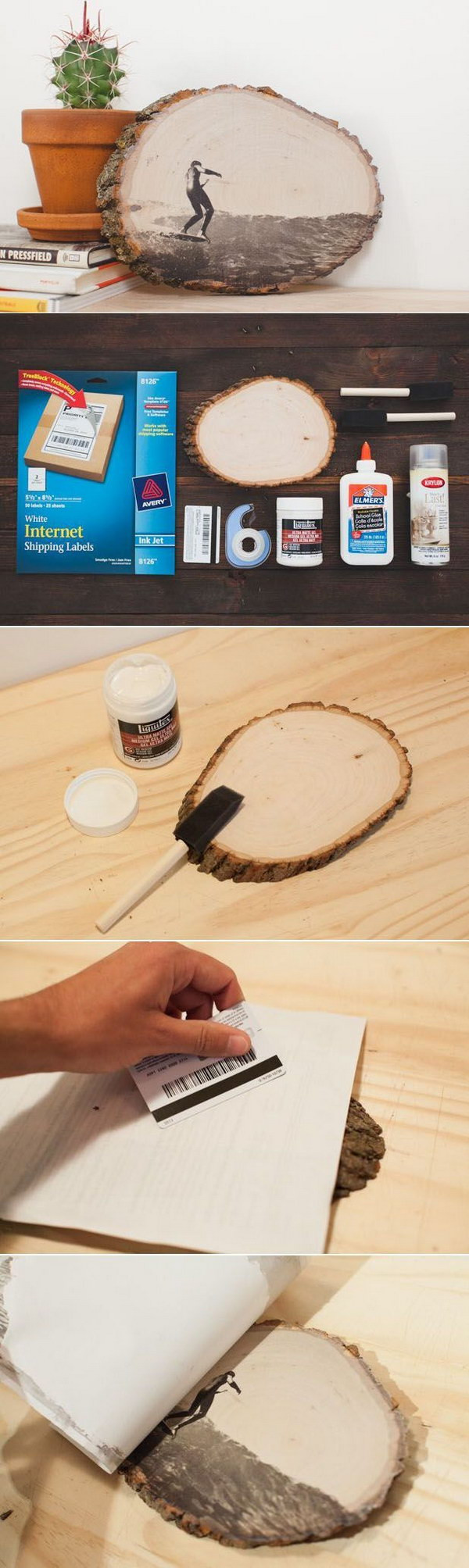 Best ideas about DIY Photo Transfer To Wood . Save or Pin 20 DIY Gift Ideas & Tutorials Styletic Now.