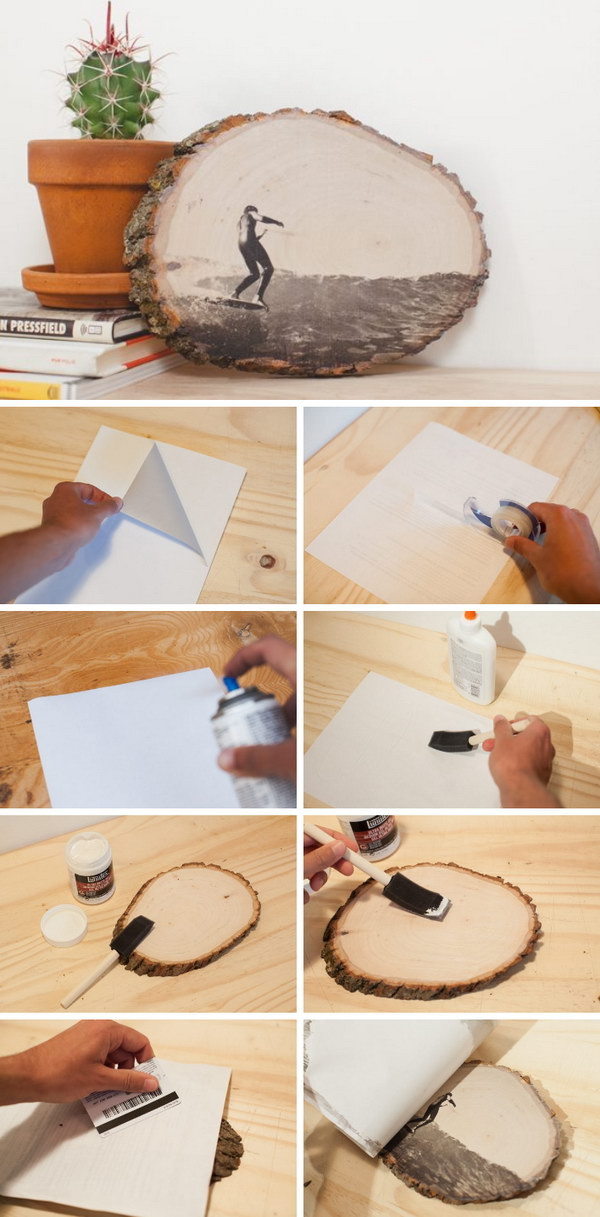 Best ideas about DIY Photo Transfer To Wood . Save or Pin 50 Awesome DIY Image Transfer Projects 2017 Now.