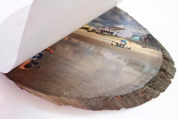 Best ideas about DIY Photo Transfer To Wood . Save or Pin DIY Wood Slice Transfer Now.
