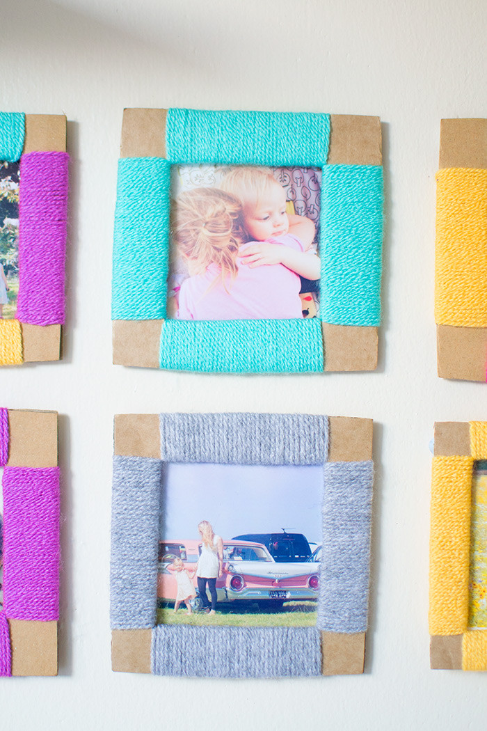 Best ideas about DIY Picture Frame For Kids . Save or Pin DIY CARDBOARD PHOTO FRAME 2 Now.