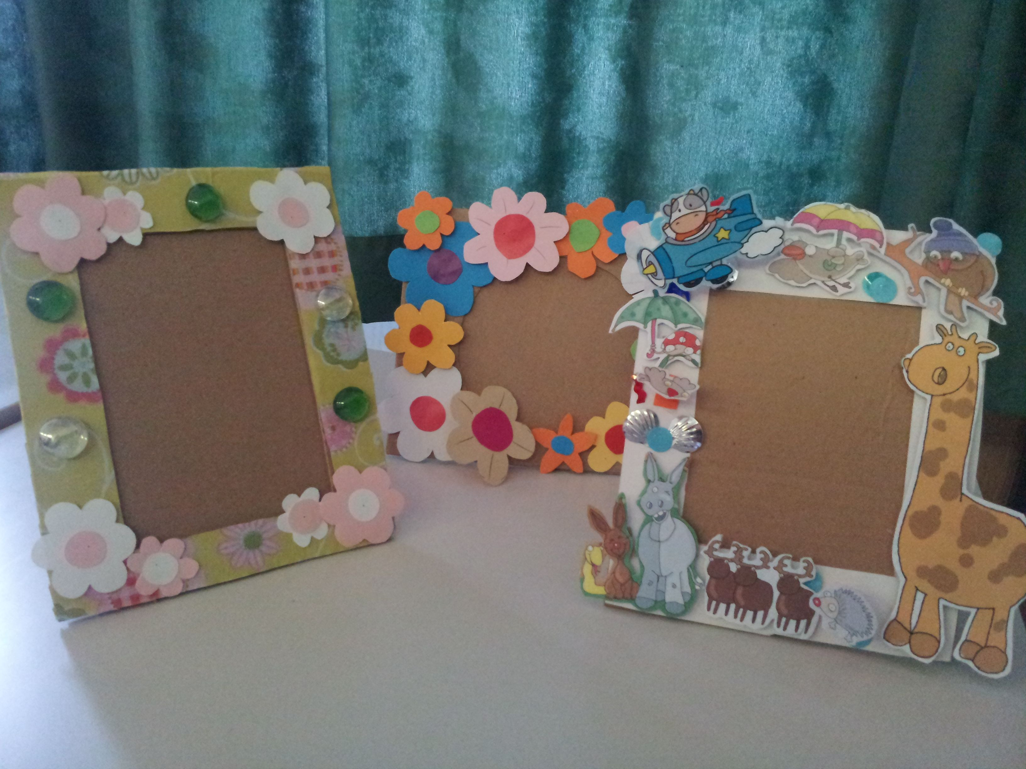 Best ideas about DIY Picture Frame For Kids . Save or Pin DIY Paper Frame kids art My School Crafts Now.