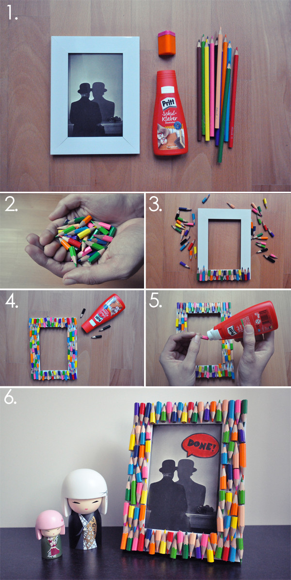 Best ideas about DIY Picture Frame For Kids . Save or Pin 26 DIY Picture Frame Ideas Now.