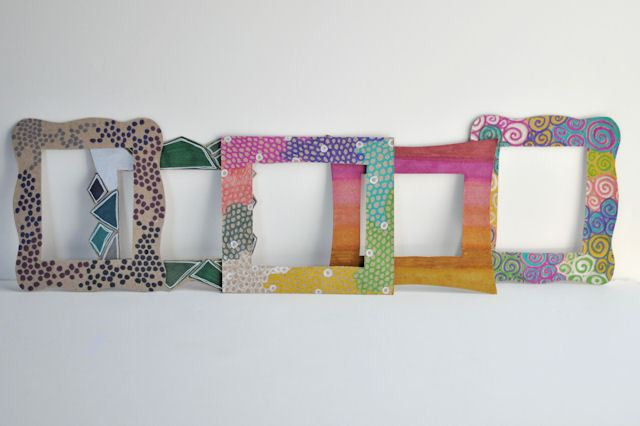Best ideas about DIY Picture Frame For Kids . Save or Pin DIY Magnetic Frames For A Kids' Room Now.