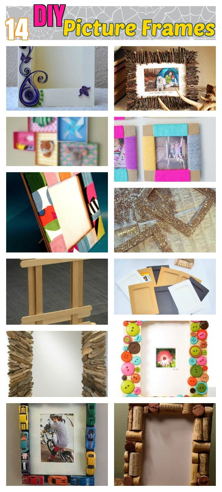 Best ideas about DIY Picture Frame For Kids . Save or Pin Best 25 Frame crafts ideas on Pinterest Now.
